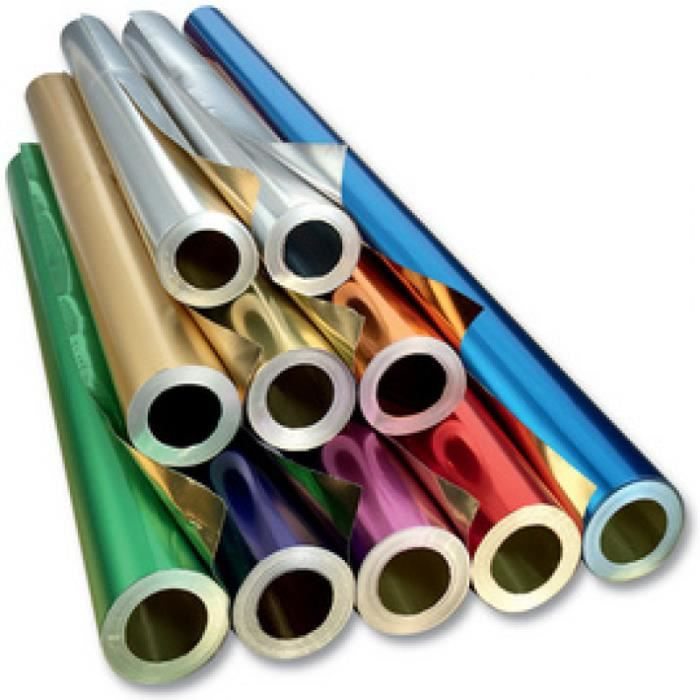 folia Feuille de bricolage en aluminium, (l)500 mm x (L)10 m 225678