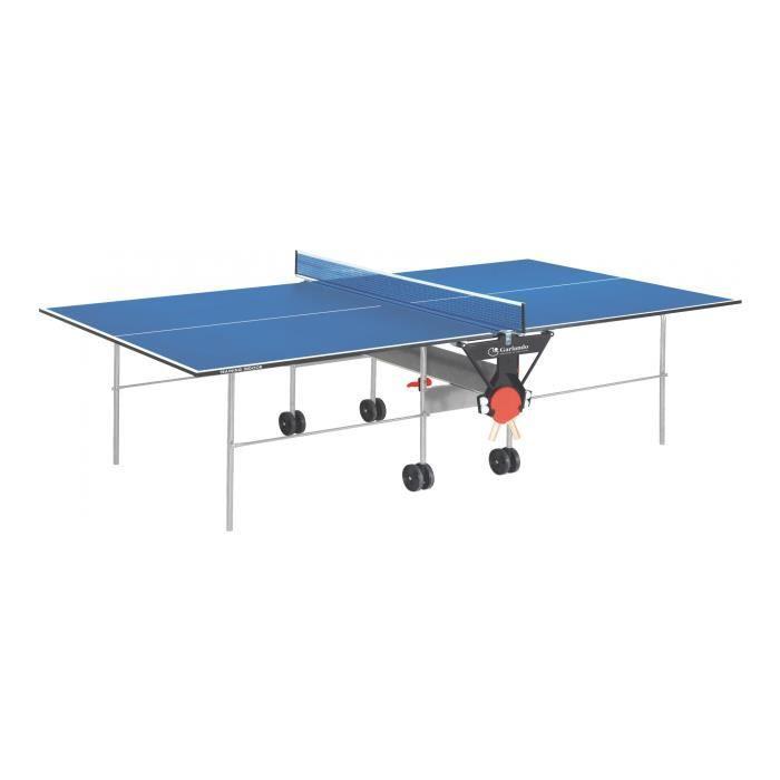 GARLANDO - Training intérieur - table de tennis - Bleu - réf C-113I