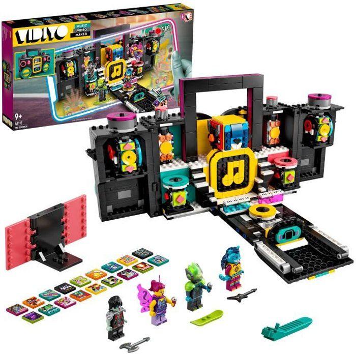 LEGO® 43115 VIDIYO The Boombox BeatBox Music Video Maker, jouet Musical et Application de Réalité Augmentée pour Enfants