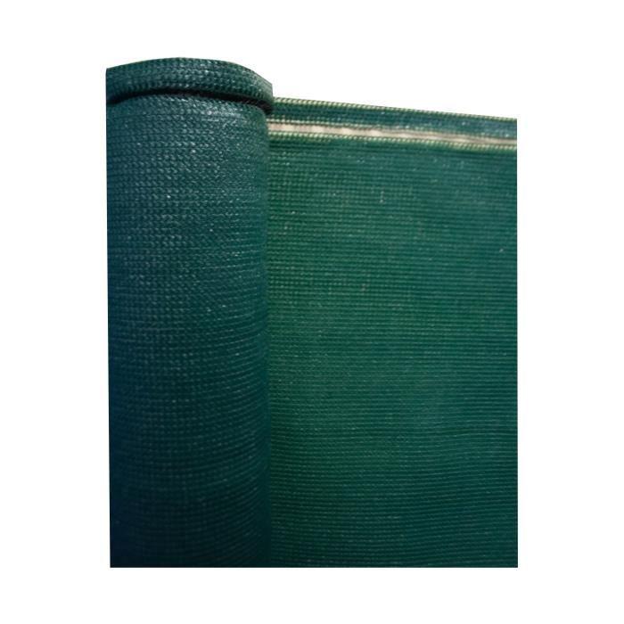IDEAL GARDEN Brise vue - 200 g/m² - 1,5 x 25 m - Vert