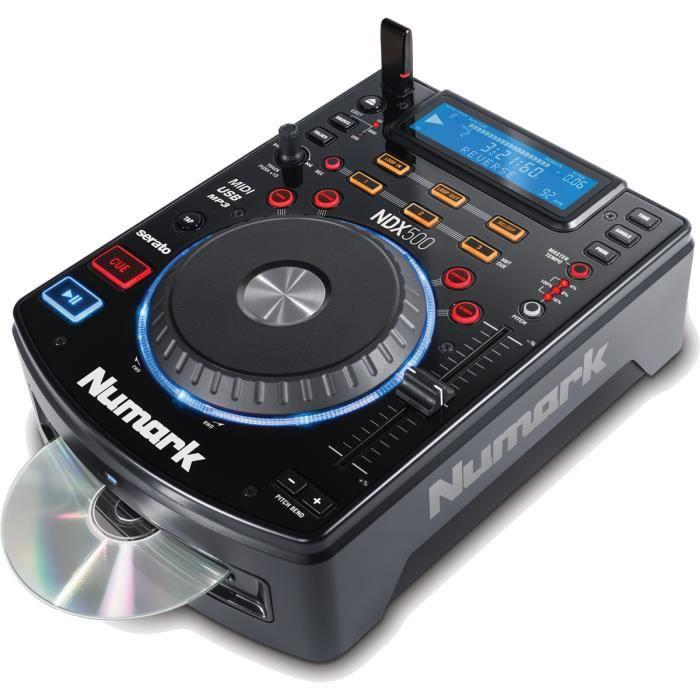 NUMARK NDX500 - Lecteur multimédia CD/USB et contr