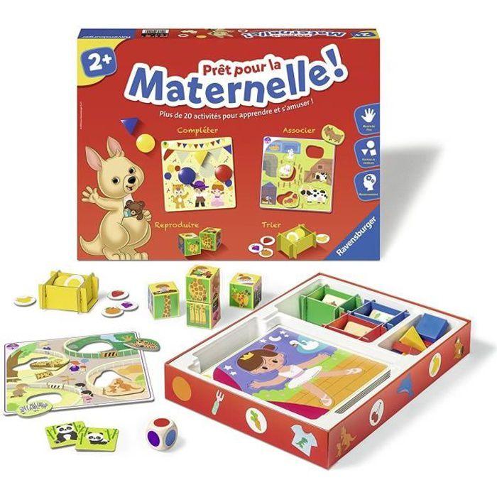 RAVENSBURGER Jeu éducatif Prêt pour la Maternelle ! - 2 ans et +