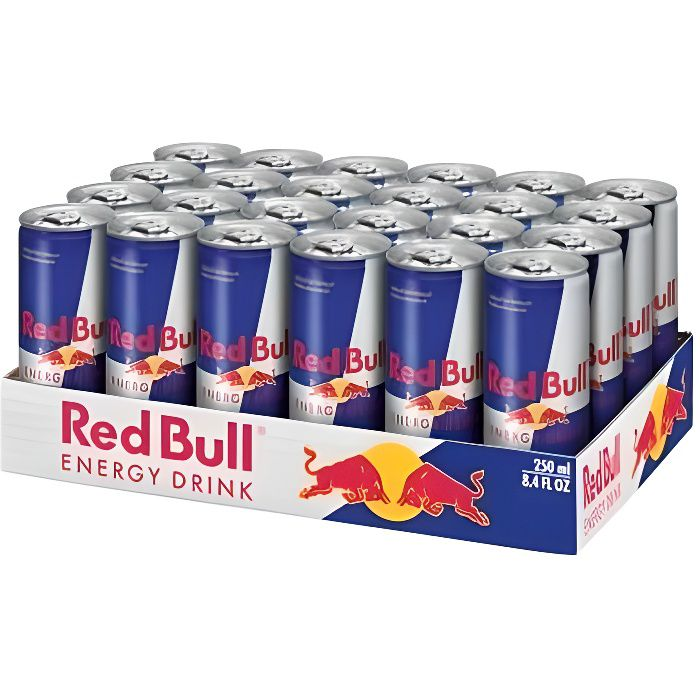 Red Bull Energy Drink (24 x 0,25 L cannettes)