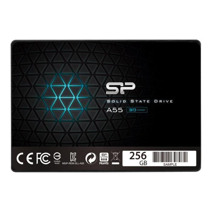 Silicon Power A55 Disque Ssd 256 Go interne 2.5