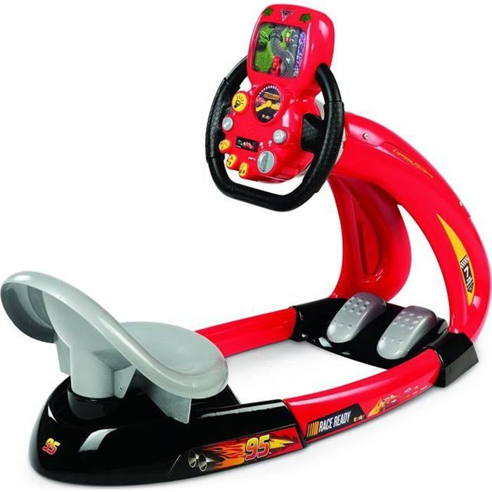CARS 3 Smoby V8 Driver + Support Smartphone
