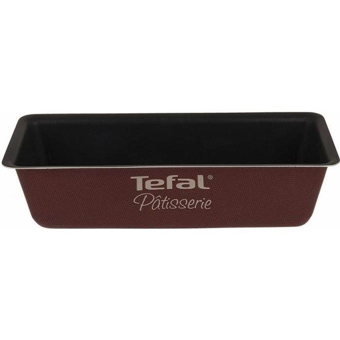 Moule à cake 26 cm marron Tefal Patisserie J0367212 TU Unique