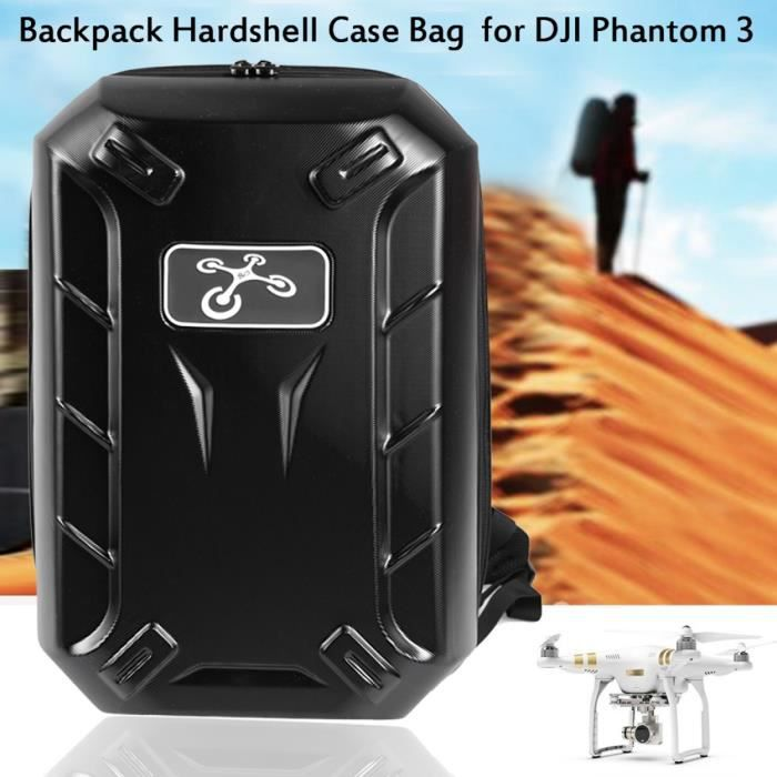 arshiner drone sac dos sacoche rigide pour dji phantom 3 rc quadcopter noir pro tanche bagage. Black Bedroom Furniture Sets. Home Design Ideas