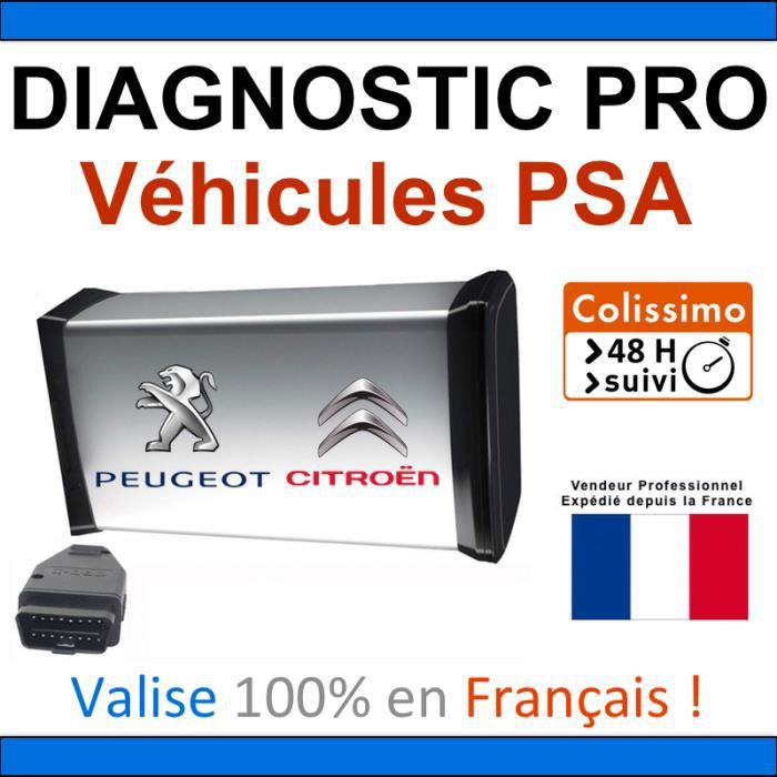 valise de diagnostic pro pour psa peugeot et citroen mpm com lexia diagbox pp2000. Black Bedroom Furniture Sets. Home Design Ideas