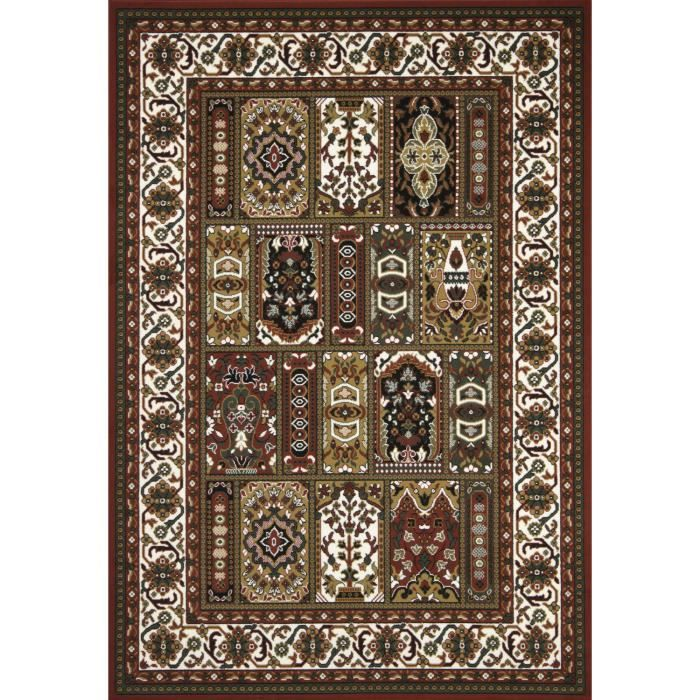 tapis pas cher sahara 05 rouge 280x370 en polyp achat vente tapis cdiscount. Black Bedroom Furniture Sets. Home Design Ideas