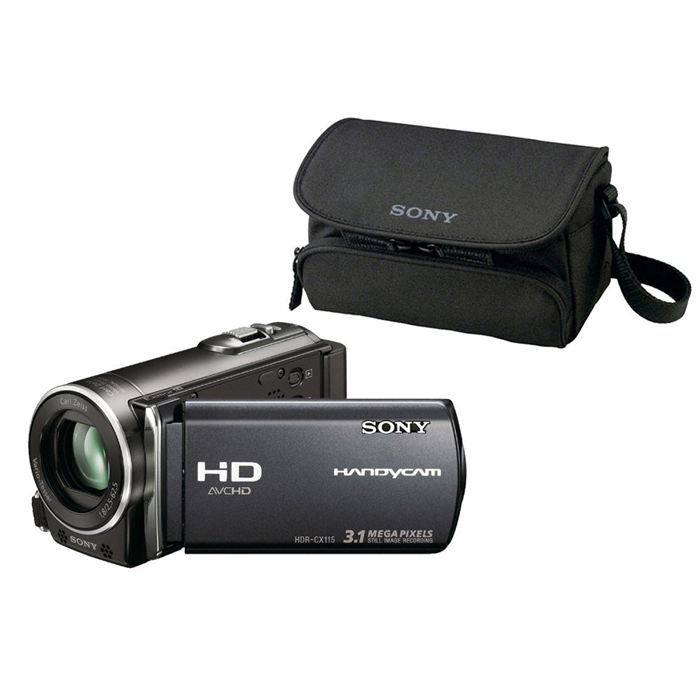 cam scope sony hdrcx115 housse achat vente cam scope