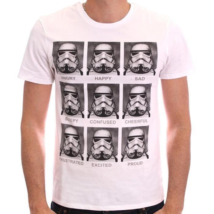 T-SHIRT T-Shirt Star Wars Stormtrooper Emotions