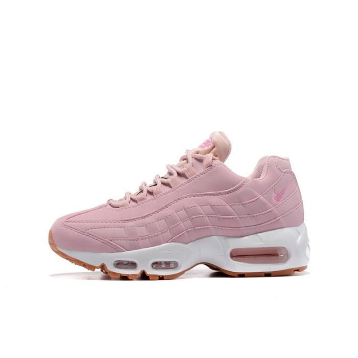 new styles cc611 2242f Basket Nike Air Max 95 Chaussures De Course Femme Rose