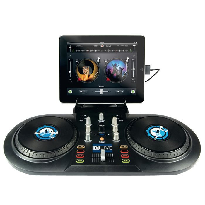 contr leur dj ipad iphone ipod numark idjlive platine. Black Bedroom Furniture Sets. Home Design Ideas