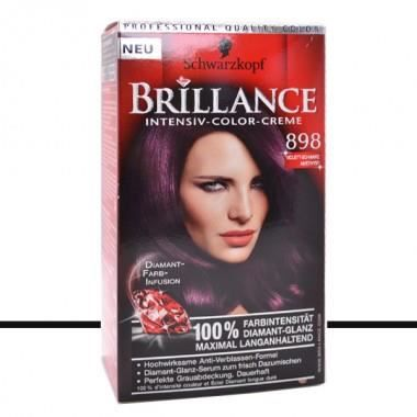 coloration schwarzkopf coloration brillance 898 violet noir - Coloration Cheveux Violet
