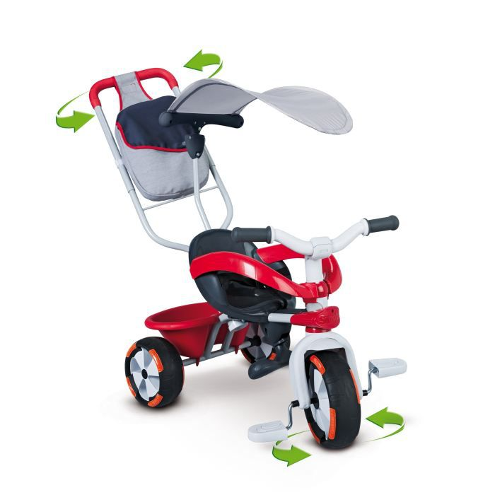 smoby baby driver v confort sport achat vente tricycle. Black Bedroom Furniture Sets. Home Design Ideas