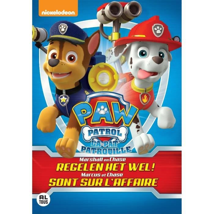 pat patrouille 2 paw patrol 2 dvd en dvd dessin anim pas cher cdiscount. Black Bedroom Furniture Sets. Home Design Ideas