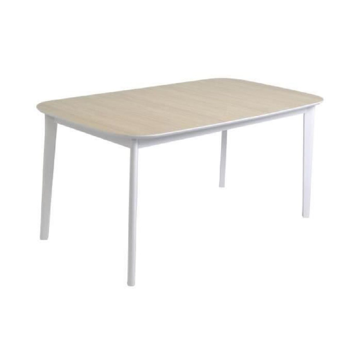 Block table manger extensible 6 8 personnes 160 200x90 for Table extensible 6 a 8 personnes blooma