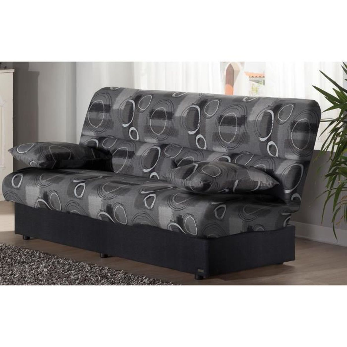 canape milan achat vente pas cher. Black Bedroom Furniture Sets. Home Design Ideas