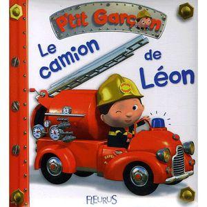 LIVRE 0-3 ANS ÉVEIL Le camion de Léon