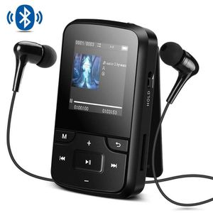 LECTEUR MP3 Lecteur Sport MP3 Bluetooth 4.0 8Go avec Clip Ecra