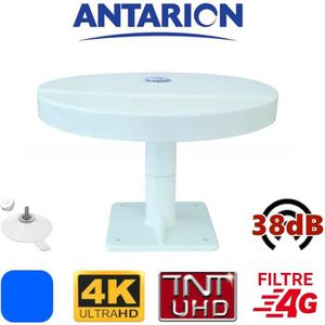 ANTENNE RATEAU Antenne TV ventouses pour camping car camion fourg