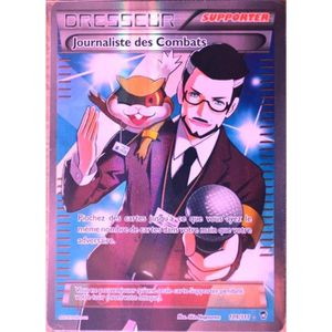 CARTE A COLLECTIONNER carte Pokémon 109-111 Journaliste des Combats ULTR