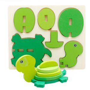 PUZZLE Montessori mini 3D puzzle enfant éducatif drôle jo