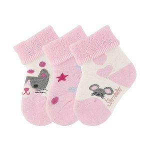 Sterntaler montantes 3er Pack Filles Taille 27//30 MARINE enfants bébé