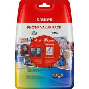 CARTOUCHE IMPRIMANTE Canon PG-540XL-CL-541XL Cartouche Noire + Couleur