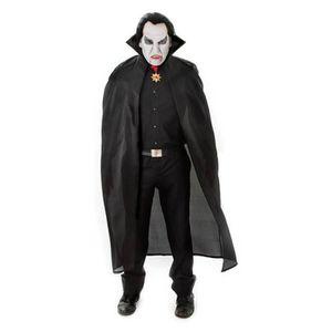 "Adulte Rouge Halloween Cape 56/"" pouces diable Dracula Vampire Costume Robe Fantaisie"