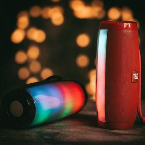 ENCEINTE NOMADE Enceinte Bluetooth 4.2 Lumineuse 10W Portable 360