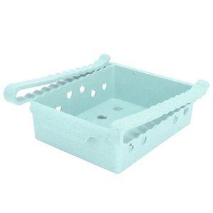 Lot de 2 bo/îtes de rangement pour aliments empilables pour r/éfrig/érateur cong/élateur 2pack transparent