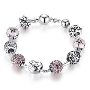 BRACELET - GOURMETTE Bracelets Femmes avec 925 Argent fin Bracelet infi