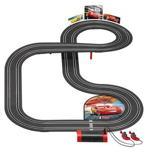 CIRCUIT Circuit de voitures Carrera First : Cars 3 aille U