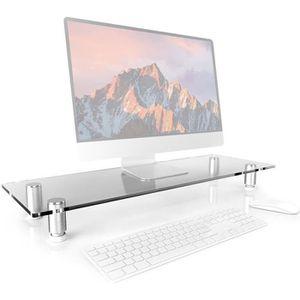 SUPPORT PC ET TABLETTE Duronic DM052-3 Réhausseur d'écran - Support en ve