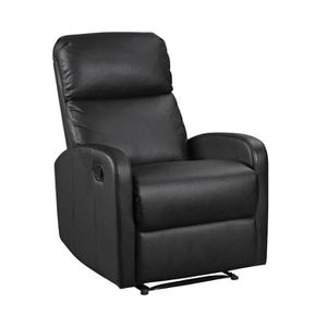 FAUTEUIL Fauteuil inclinable MAX noir