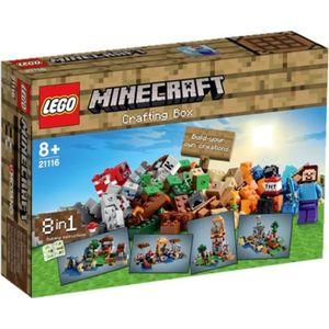 ASSEMBLAGE CONSTRUCTION LEGO® Minecraft 21116 La Boîte de Construction