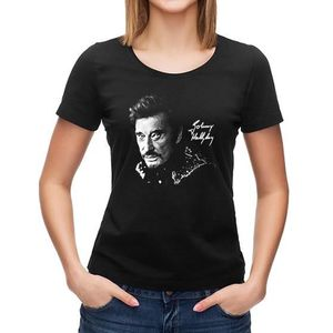 T-SHIRT T-shirt Johnny Hallyday Signature