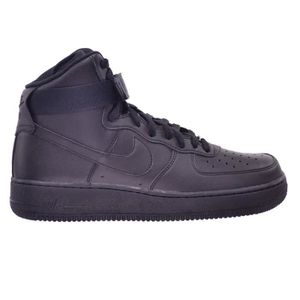 BASKET NIKE Air Force 1 High '07 Shoes Black 315121-032 1