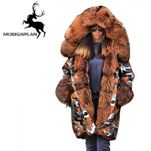 Doudoune Femme chaud Marque Doudoune Femmes Coupe vent et à capuche plus de velours Femmes VêTement