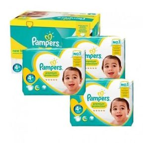 COUCHE 105 Couches Pampers New Baby Premium Protection ta