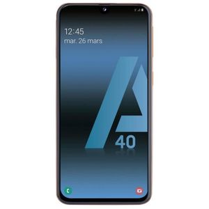 SMARTPHONE Samsung Galaxy A40 - Double Sim - 64Go, 4Go RAM -