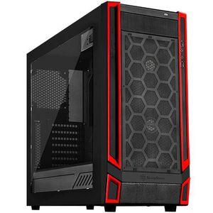 BOITIER PC  SilverStone SST-RL05BR-W - Red Line Boîtier PC Gam