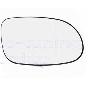 temp Droit Aspherique Chauffant Miroir retroviseur MERCEDES W168 7//1997-8//2004