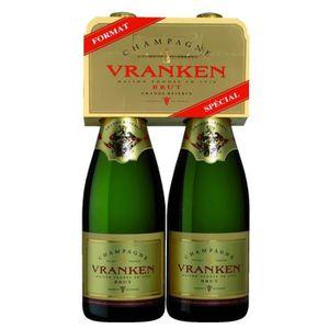CHAMPAGNE VRANKEN Grande Réserve Champagne brut - 2 x 75 cl