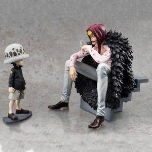 FIGURINE - PERSONNAGE Anime One Piece POP Figurine 12-16CM Corazon & enf