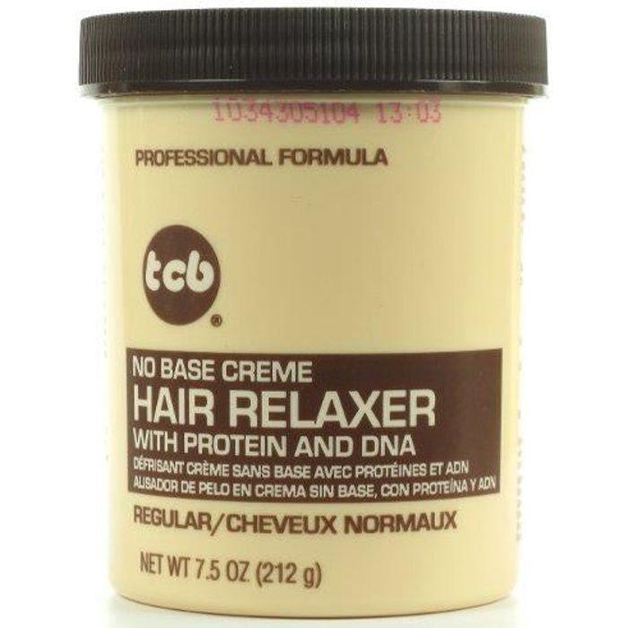 Défrisant Crème sans Base avec Protéines et ADN Cheveux Normaux 212g