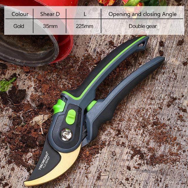 Jardinage plante élagage cisaillement branche Machine arbuste jardinage cisailles outil enclume branche cisaillement verger élagage