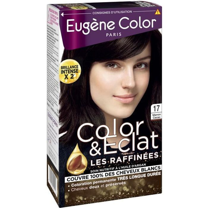 EUGENE COLOR Coloration N17 Marron Cacao