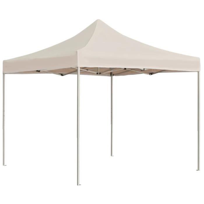 Tente de réception Tonnelle réception jardin TONNELLE - BARNUM - Tente pliable pliante Chapiteauprofessionnelle Aluminium 3x3m🌲2388
